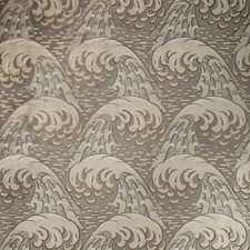 Pewter Asian Drapery and Upholstery Fabric by Kravet