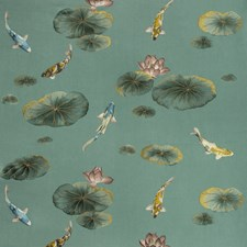Sage Asian Drapery and Upholstery Fabric by Kravet