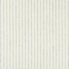 White/Indigo/Dark Blue Stripes Drapery and Upholstery Fabric by Kravet
