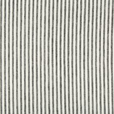 White/Black Stripes Drapery and Upholstery Fabric by Kravet