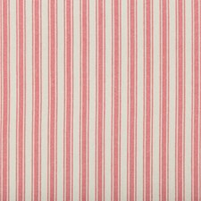 Geranium Stripes Drapery and Upholstery Fabric by Kravet