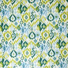 Grasshopper Flamestitch Drapery and Upholstery Fabric by Fabricut