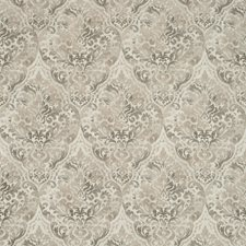 Grey/Beige Damask Drapery and Upholstery Fabric by Kravet