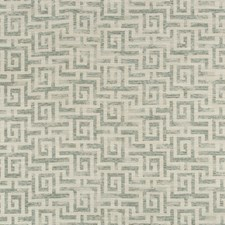 Ivory/Light Green Geometric Drapery and Upholstery Fabric by Kravet