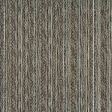 Blue/Charcoal Stripes Drapery and Upholstery Fabric by Kravet