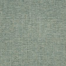 White/Teal Solid Drapery and Upholstery Fabric by Kravet