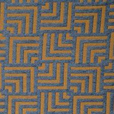 Bluestone Geometric Drapery and Upholstery Fabric by Fabricut