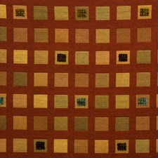 Saffron Check Drapery and Upholstery Fabric by Fabricut