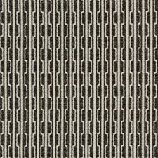 Black/White Geometric Drapery and Upholstery Fabric by Kravet
