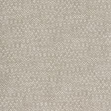 White/Beige Herringbone Drapery and Upholstery Fabric by Kravet