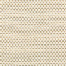 White/Beige Small Scale Drapery and Upholstery Fabric by Kravet