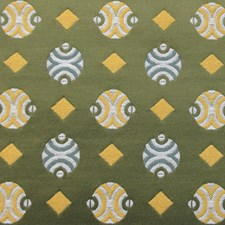 Verde Jacquard Drapery and Upholstery Fabric by Scalamandre