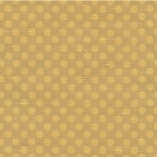 Beige/Yellow Dots Drapery and Upholstery Fabric by Kravet