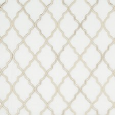 Taupe/Beige Geometric Drapery and Upholstery Fabric by Kravet