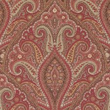 Pomegranate Paisley Drapery and Upholstery Fabric by Duralee