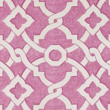 Bubblegum Diamond Drapery and Upholstery Fabric by Duralee