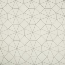 White/Silver Modern Drapery and Upholstery Fabric by Kravet