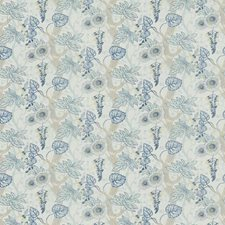 Bluebell Floral Drapery and Upholstery Fabric by Stroheim
