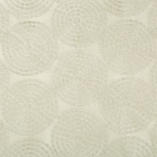 Silver/Grey/Ivory Geometric Drapery and Upholstery Fabric by Kravet