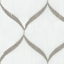 Ivory/Light Grey Modern Drapery and Upholstery Fabric by Kravet