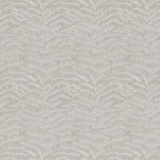 Silver Animal Drapery and Upholstery Fabric by S. Harris