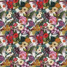 Passion Fruit Floral Drapery and Upholstery Fabric by Vervain