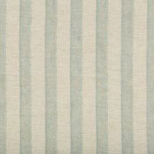Spa/Turquoise/Beige Stripes Drapery and Upholstery Fabric by Kravet
