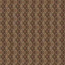Chocolate Diamond Drapery and Upholstery Fabric by Trend