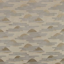 Sand/Fog Asian Drapery and Upholstery Fabric by Kravet