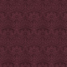 Oxblood Jacquard Pattern Drapery and Upholstery Fabric by Fabricut