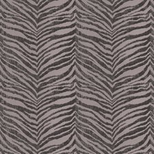 Charcoal Animal Drapery and Upholstery Fabric by Fabricut