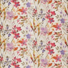 Tropical Floral Drapery and Upholstery Fabric by Vervain