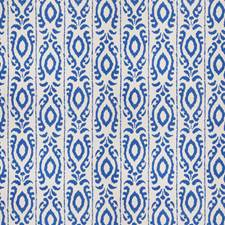 Cobalt Global Drapery and Upholstery Fabric by Stroheim
