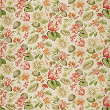 Passion Fruit Floral Drapery and Upholstery Fabric by Fabricut