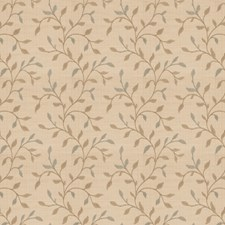 Stream Embroidery Drapery and Upholstery Fabric by Fabricut