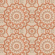 Cinnamon Embroidery Drapery and Upholstery Fabric by Fabricut