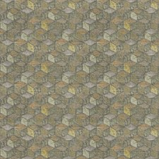 Fusion Geometric Drapery and Upholstery Fabric by S. Harris