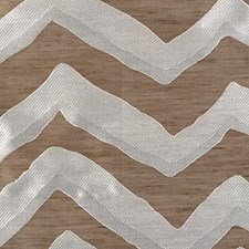 Cocoa/silver Drapery and Upholstery Fabric by Highland Court