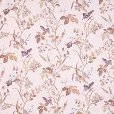 Quartz Floral Drapery and Upholstery Fabric by Vervain
