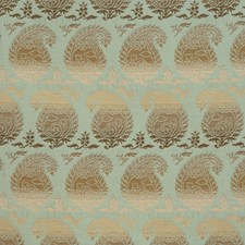 Waterblue Global Drapery and Upholstery Fabric by Vervain