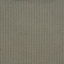 Turquoise Herringbone Drapery and Upholstery Fabric by Vervain