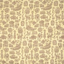 Peridot Animal Drapery and Upholstery Fabric by Vervain