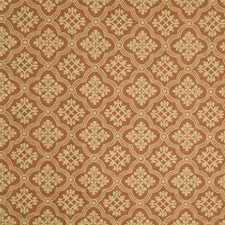 Clay Floral Drapery and Upholstery Fabric by Vervain