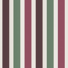 Plum Juniper Stripes Drapery and Upholstery Fabric by Vervain