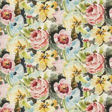 Laurel Floral Drapery and Upholstery Fabric by Stroheim