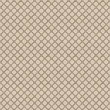 Taupe Lattice Drapery and Upholstery Fabric by Trend