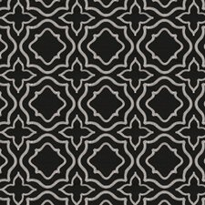 Onyx Embroidery Drapery and Upholstery Fabric by Fabricut