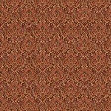 Crimson Jacquard Pattern Drapery and Upholstery Fabric by Trend