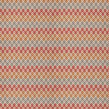 Spice Geometric Drapery and Upholstery Fabric by Stroheim