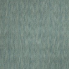 Azure Herringbone Drapery and Upholstery Fabric by Vervain